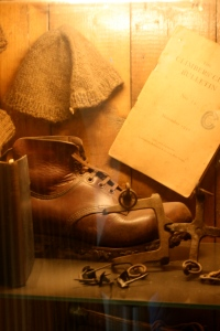 Old boots, Helyg CC hut